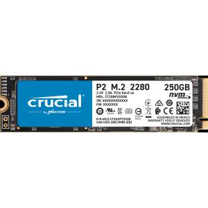 SSD накопитель  Crucial P2 250Gb M.2 2280 PCIe
