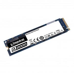 SSD накопитель Kingston A2000 SA2000M8/500G 500ГБ, M.2 2280, PCI-E x4, NVMe