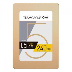 SSD накопитель TEAM L5 LITE 3D GOLD 240GB