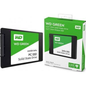 SSD накопитель WD Green 120GB