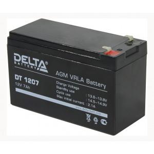 АКБ к ИБП Delta DT 1207 12В 7Ач