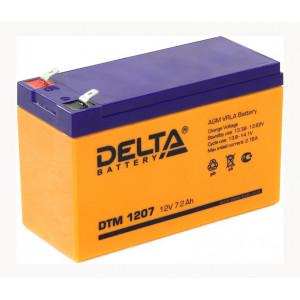АКБ к ИБП Delta DTM 1207 12В 7.2Ач