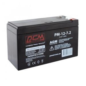 Аккумулятор для ИБП POWERCOM 12v, 7.2Ач